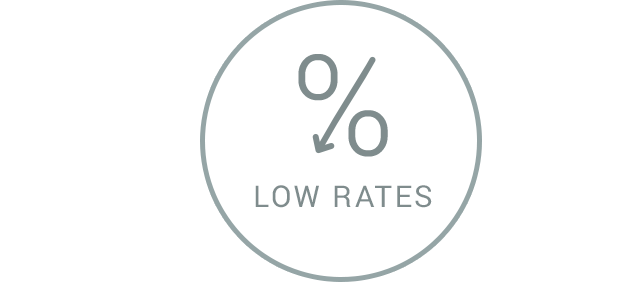 Diagram of low rates